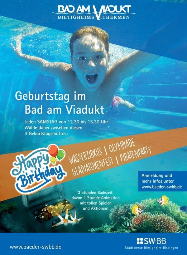 Bild:Feiere deinen Geburtstag im Bad am Viadukt