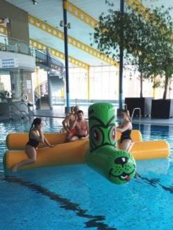 Bild:Schwimmtier am Spielenachmittag