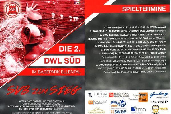 Bild:Spieltermine SV Bietigheim Wasserball