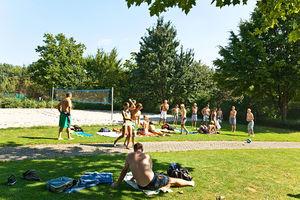 Bild:Beachvolleyballfeld